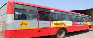 Advertising in Non AC Bus - Karnataka