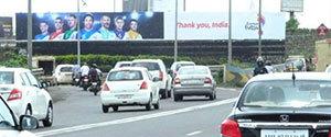 Advertising on Hoarding in Bandra West 14360