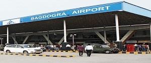 Advertising in Airport - Bagdogra Airport