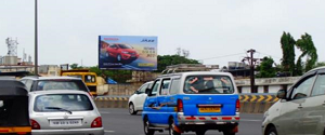 Advertising on Hoarding in Juinagar 14841