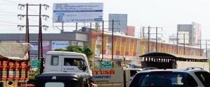 Advertising on Hoarding in Kharghar 14844