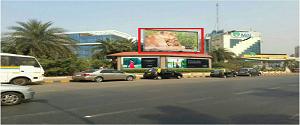 Advertising on Hoarding in Bandra East 15900