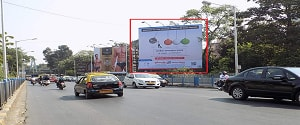 Advertising on Hoarding in Dadar 16923