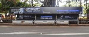 Advertising on Bus Shelter in Kamla Nehru Park 17265