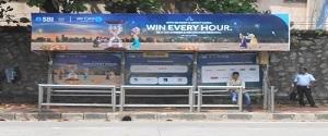 Advertising on Bus Shelter in Borivali 17305