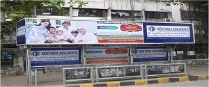 Advertising on Bus Shelter in Dadar West 22103