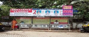 Advertising on Bus Shelter in Ghatkopar West 22209