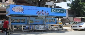 Advertising on Bus Shelter in Mulund West 22275