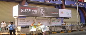 Advertising on Bus Shelter in Mulund West 22284
