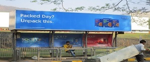 Advertising on Bus Shelter in Mulund West 22290
