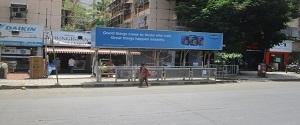 Advertising on Bus Shelter in VN Purav Marg 22292