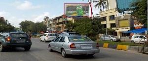 Advertising on Hoarding in Juhu 23162