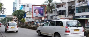 Advertising on Hoarding in Linking Road,Mumbai 24801