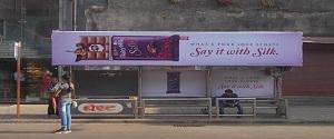 Advertising on Bus Shelter in Mumbai 26946