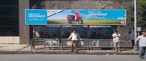 Advertising on Bus Shelter in Mumbai 27004