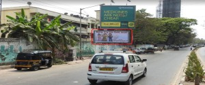 Advertising on Hoarding in Khar West 28144