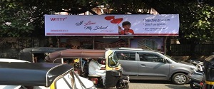 Advertising on Bus Shelter in Borivali West 28416