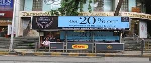 Advertising on Bus Shelter in Bandra West,Mumbai 28452