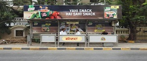 Advertising on Bus Shelter in Bandra West,Mumbai 28501