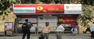 Advertising on Bus Shelter in Andheri West 28542