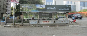 Advertising on Bus Shelter in Andheri East 28546