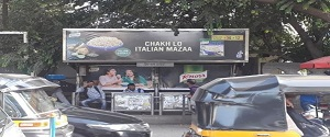Advertising on Bus Shelter in Andheri East 28548