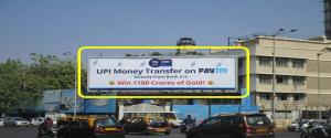 Advertising on Hoarding in Mahim 36786