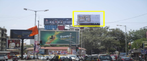 Advertising on Hoarding in Mahim 36789