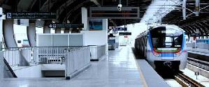 Metro Station - Hyderabad
