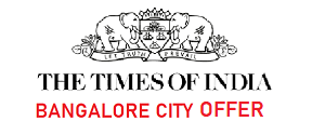 Times Of India, Bangalore City Special Feature Offer, English