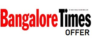 Times Of India, Bangalore Times Special Feature Offer, English