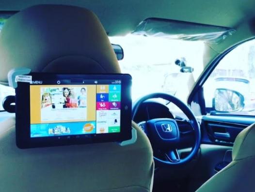 Cab - Mumbai-Uber- Digital Screen Advertising -Option 1