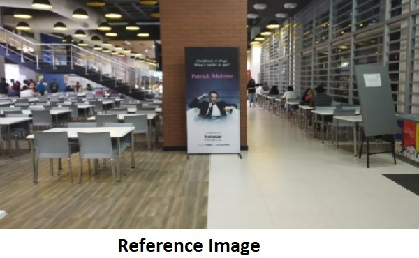 Standee - Building Reception - 3 W x 6 H Ft