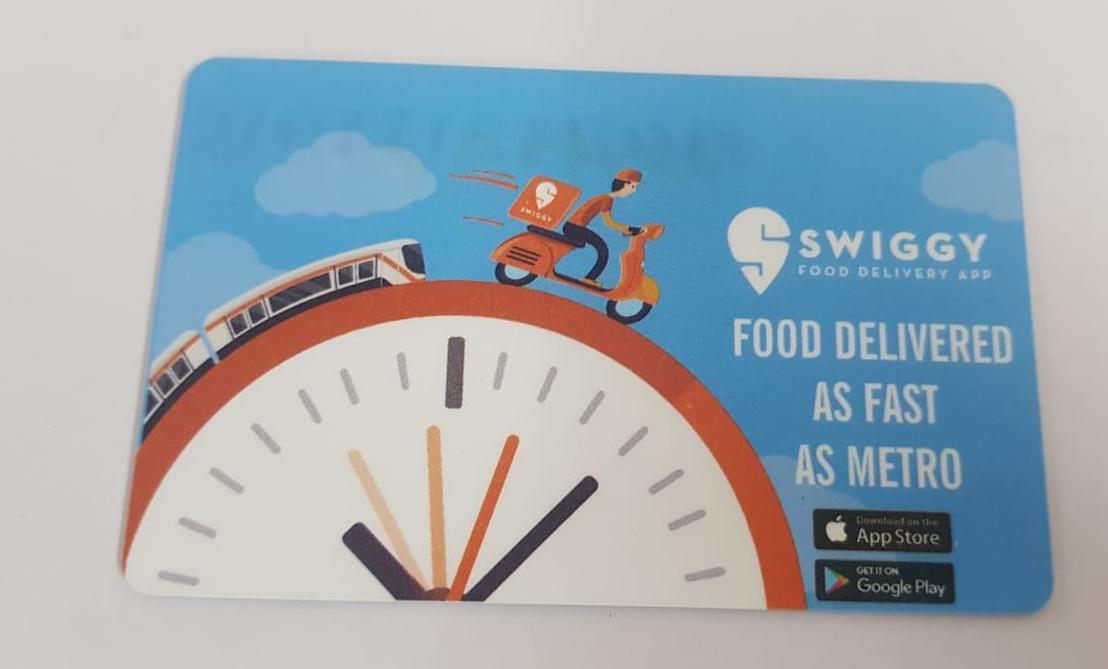 Metro Train- Delhi- Smart Card Advertising- Option 1