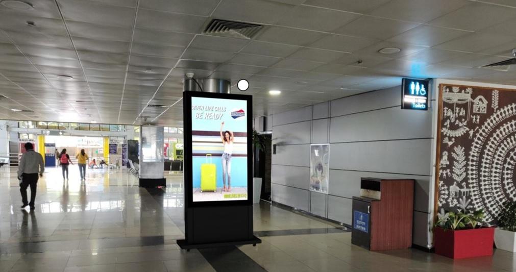 Digital Screen - Before First Pillar