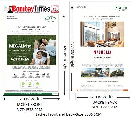 Bombay Times English-Jacket Advertising-Option 1