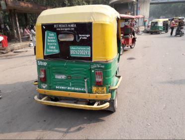 Auto - Delhi - Auto Hood Advertising Option - 1