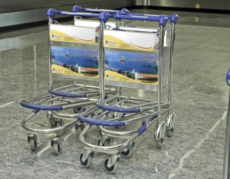 Bangalore Airport-Luggage Trolley Advertising-Option 1