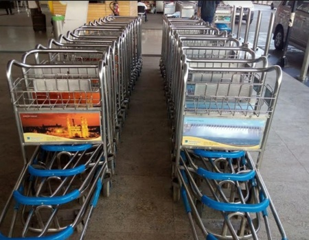 Chennai Airport- Luggage Trolley Advertising-Option 1