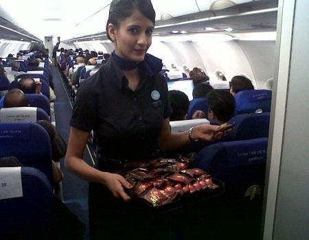 IndiGo Airlines Domestic-Inflight Sampling Advertising