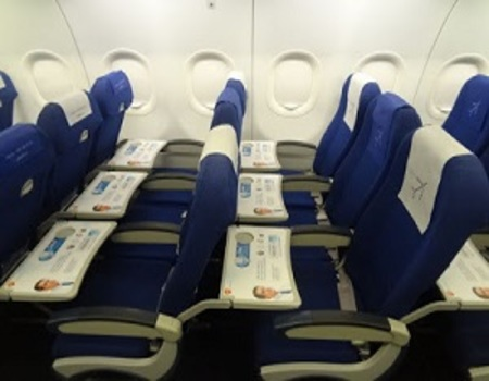 IndiGo Airlines Domestic-Meal Tray Branding-Option 1