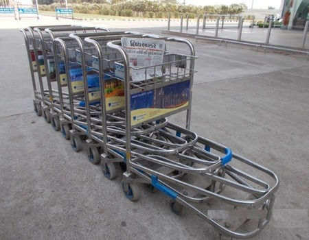 Ahmedabad Airport- Luggage Trolley Advertising-Option 1