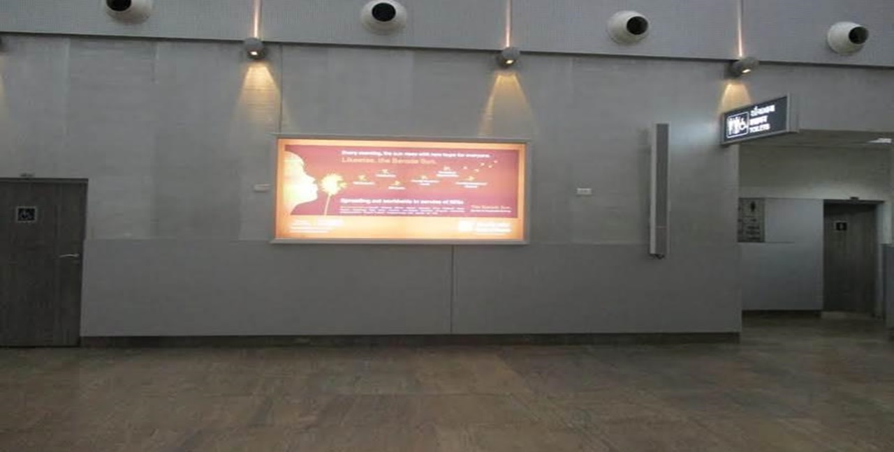 International Arrivals - 8 x 4 Ft - Back Lit Panel