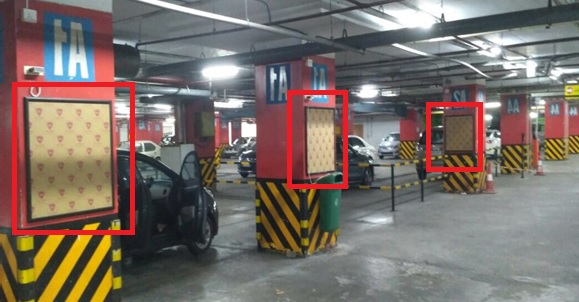 Pillar Branding - Parking Area - 3 W x 3 H Ft