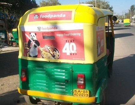 Auto - Delhi - Auto Hood Advertising