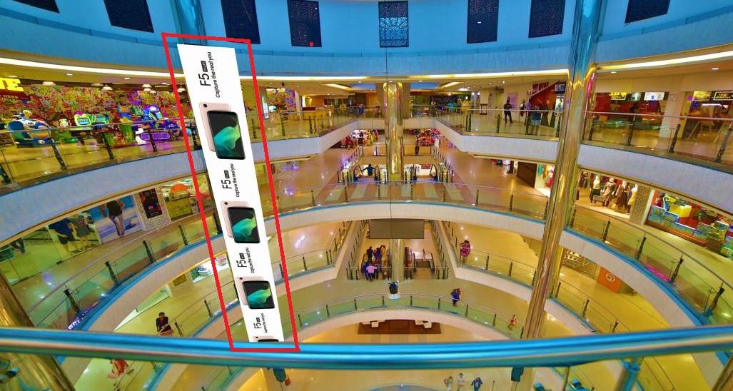 Drop Down - 4th Floor To Ground Floor - 4 W x 60 H Ft
