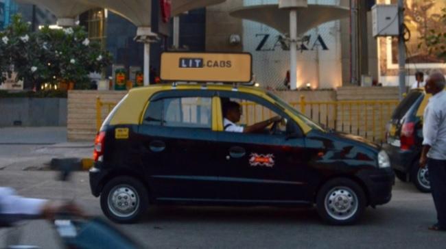 Cab - Mumbai-Rooftop Carrier Advertising -Option 1