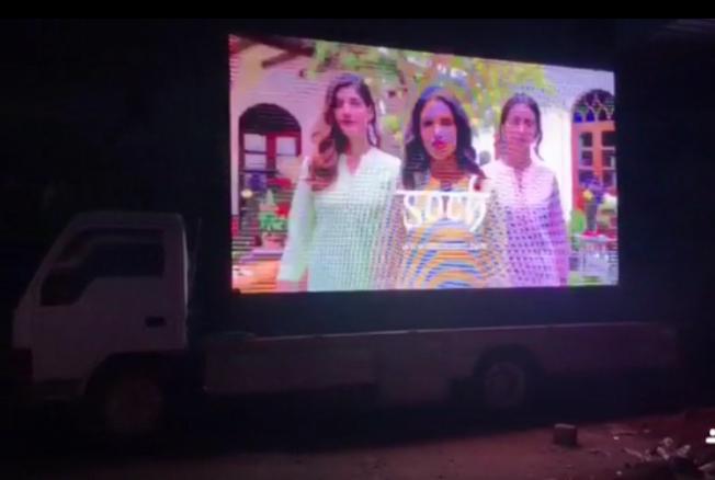 Mobile Van - Bangalore- Led Advertising-Option 1