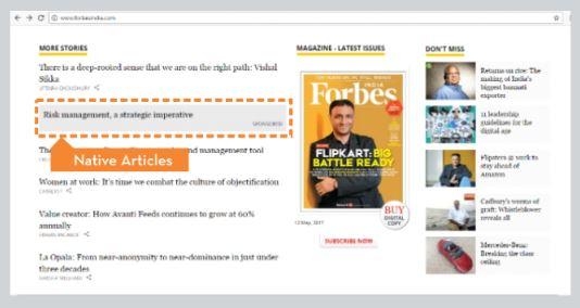 Forbes - Article Advertising Option 1