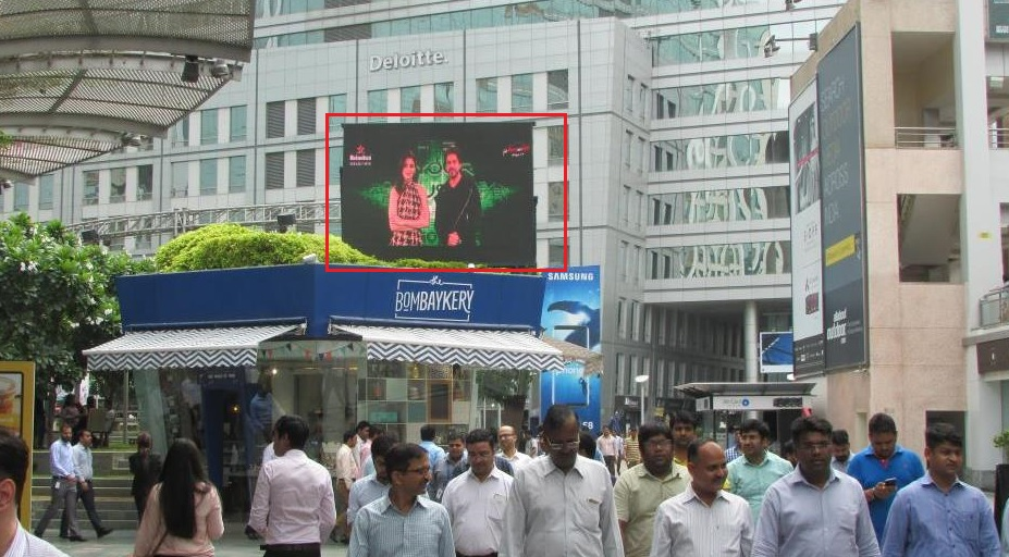 LED Screens - Site 26 - Across Cyber Hub - 12 x 8 ft